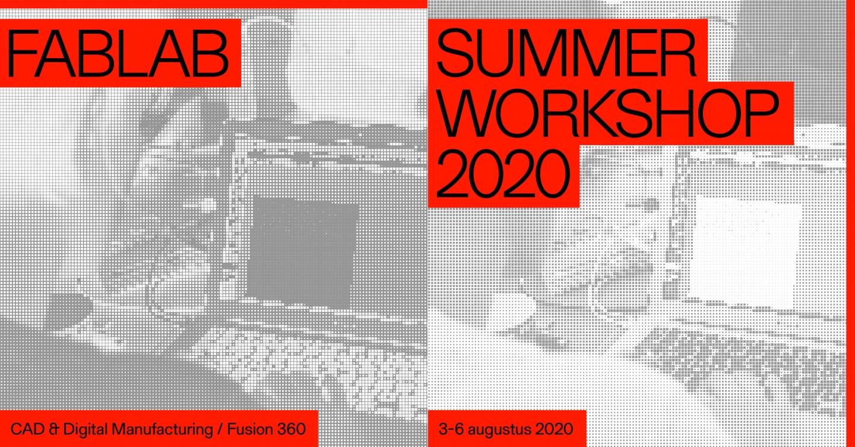 Fablab Summer Workshop: CAD & Digital Manufacturing / Fusion 360